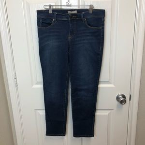 Free People Stretch Ankle Jeans